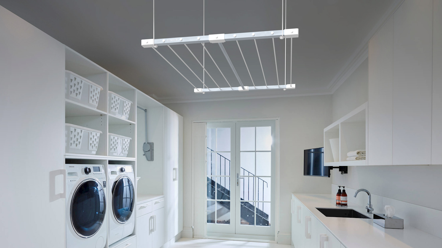Laundry Room con Tender® Colgante