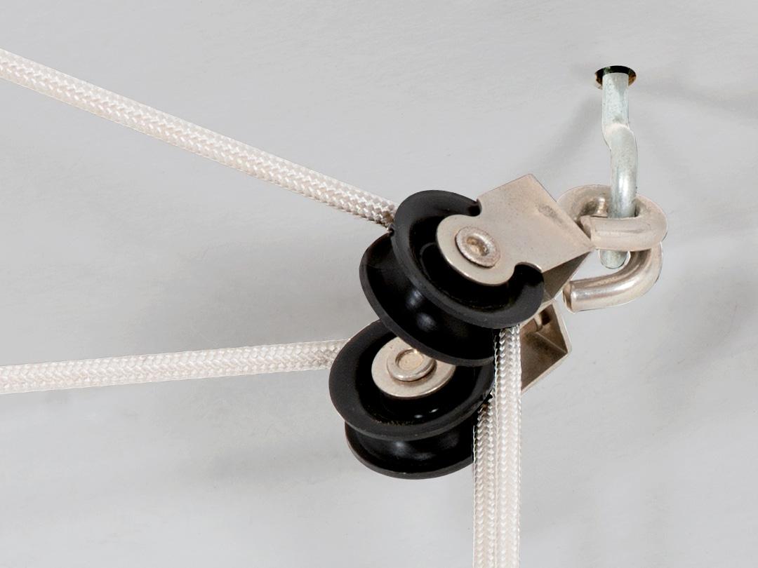 Roldanas y Cordones de Tender® Colgante