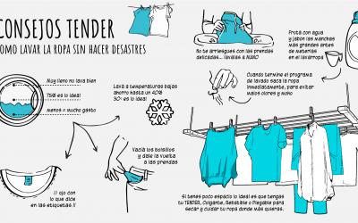 ¿Cómo lavar la ropa sin hacer desastres?